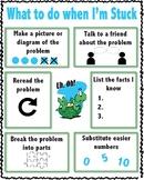 I'm stuck Poster- Math