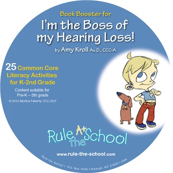 I'm the Boss of My Hearing Loss Book Booster