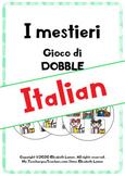 I mestieri: gioco di Dobble (Italian A1/B1)