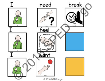 I need break chart