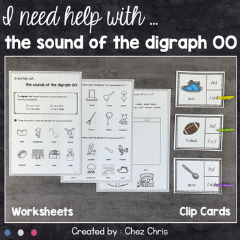 I need help with ... the pronunciation of the digraph oo !