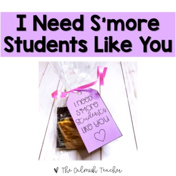 I need s'more students like you