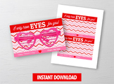 I only have EYES for you Sunglasses Card Holder, Eye Glasses Exchange Ideas