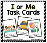 I or Me Grammar Cards