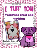 """I 'ruff' you!"" Puppy Valentine Craft and Writing"