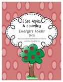 I see Apples Counting Emergent Reader