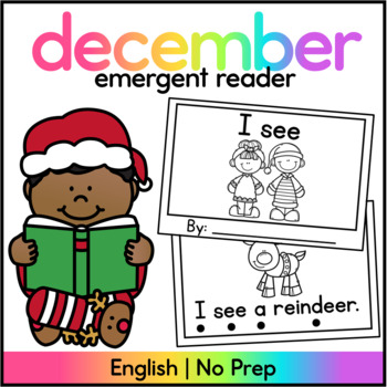 I see - Christmas Sight Word Reader
