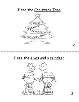 I see Christmas decodable reader for K!