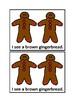 I see Gingerbread Colors Emergent Reader Book for Preschool & Kindergarten