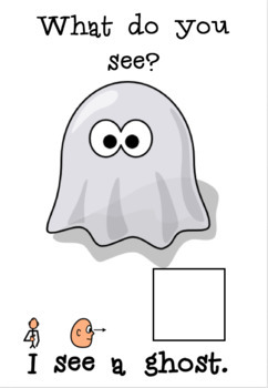 "I see Halloween! - Interactive Book for ""I see"" PECS comments"