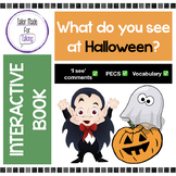 """What do you see at Halloween!? - Interactive Book for """"I s"""