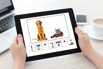 EASY READER I see...Pet Animal Edition Adapted Book Special Education Autism