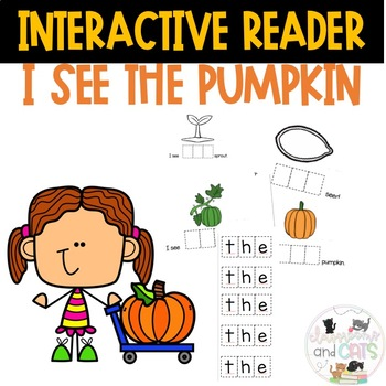 I see THE pumpkin interactive reader