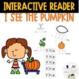 I see THE pumpkin interactive reader