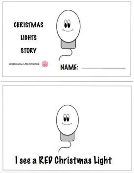 I see a Christmas Light Bulb Book
