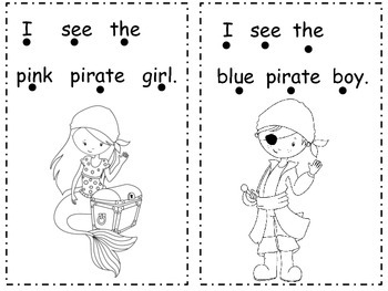 I see a Pirate Mini Book