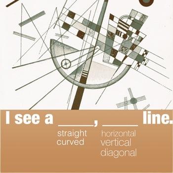 I see a __, __ line