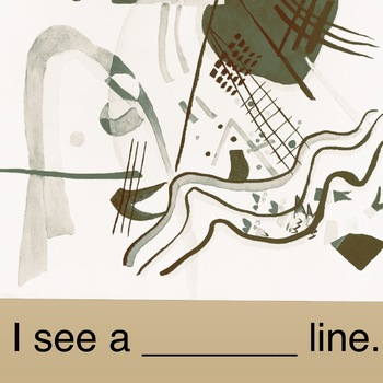 I see a __ line