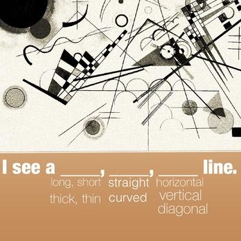 I see a ____, ____, ___ line