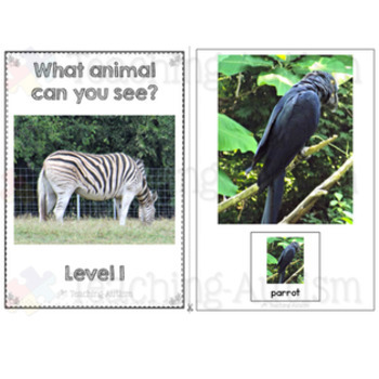 Animal Adapted Books for Special Education