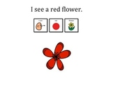 I See Colorful Flowers! Learn colors, following directions