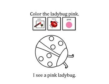 I See Colorful Ladybugs!