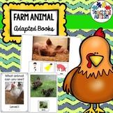 Farm Animal Photo Adapted Books