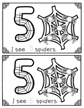 I see spiders in spiderwebs- a 0-10 counting book!