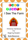 I see the Farm Easy Reader Patterned Sentences for Beginni
