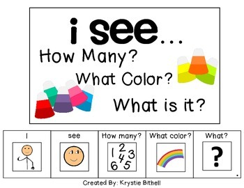 I see...How Many? Color? What? Candy Corn Adapted Book Spe