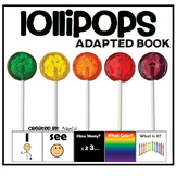 I see...How Many? Color? What? Lollipop Adapted Book Speci