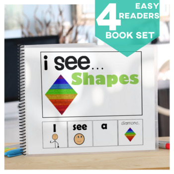 I see...How Many? Color? What? Shape  Adapted Book Special Education Autism