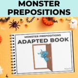 PREPOSITIONS:  Alien Edition Adapted Book Special Educatio