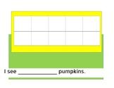 I see____ Pumpkins. Counting 0-10