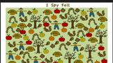 I spy Fall Game