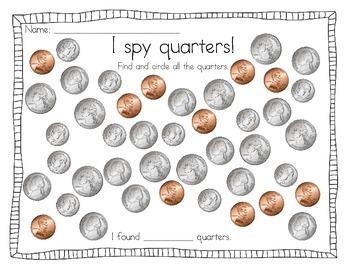 I spy Quarters Freebie!