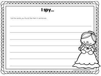 I spy .. Fairy Tales Edition