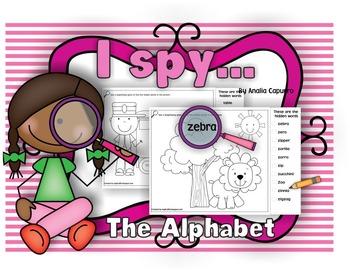 I spy ..The Alphabet