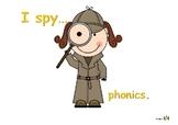 I spy... phonics
