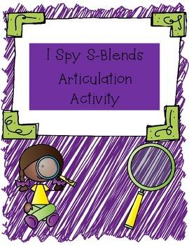 I spy s-blends