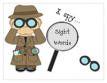 I spy spelling words
