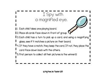 I spy with a magnified eye