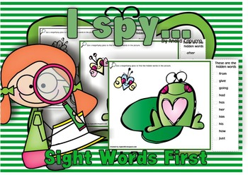 I spy..Love! First  List