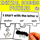 Initial Letter Matching Puzzles