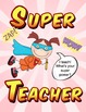 I teach! What's your super power? Poster Set