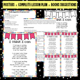 Growth Mindset- I think I can Poem- Posters + Complete les