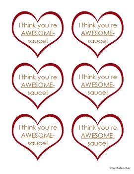 I think you're AWESOMEsauce!