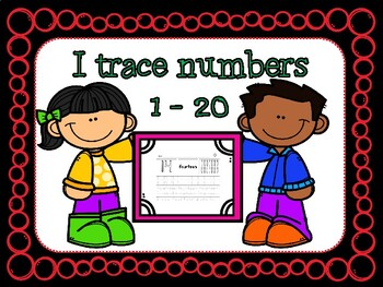 I trace numbers 1-20