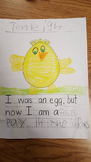 I used to be an egg writing