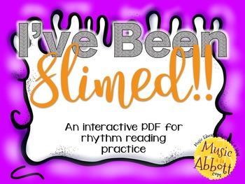 I've Been Slimed Rhythms {A Bundle of Games for Memory & Reading}